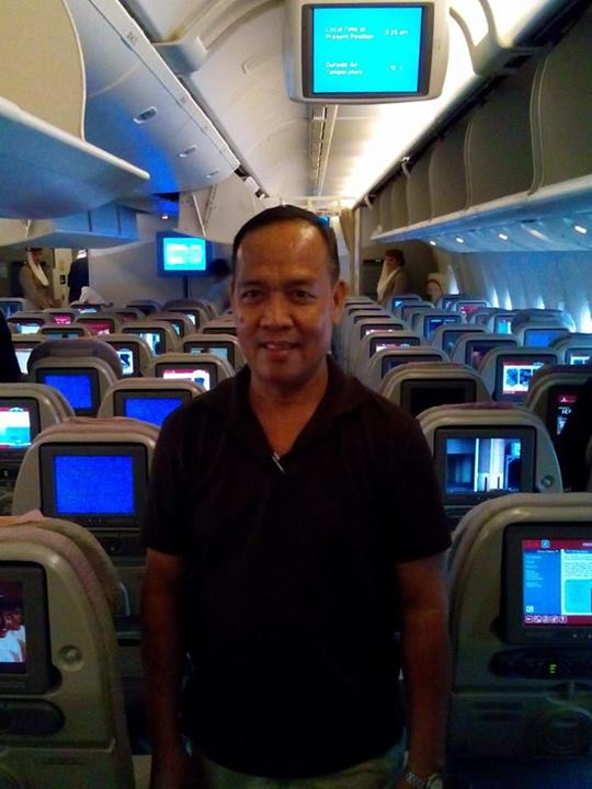 Papa on board Going back to KSA