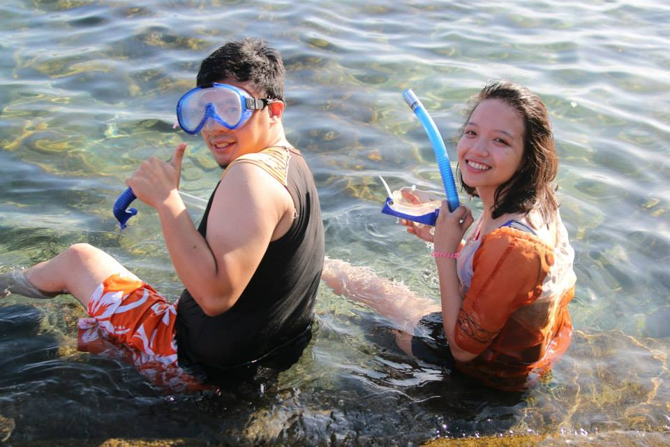 Before we dive and swim with the fishes and octopus! (seriously) Photo credits to Zel Manalang